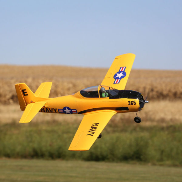 T-28 Trojan 1.1m BNF Basic with AS3X and SAFE Select Product Gallery Image 2