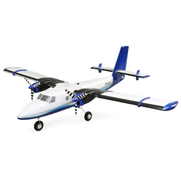 Twin Otter 1.2m BNF Basic with AS3X and SAFE, includes Floats Product Image