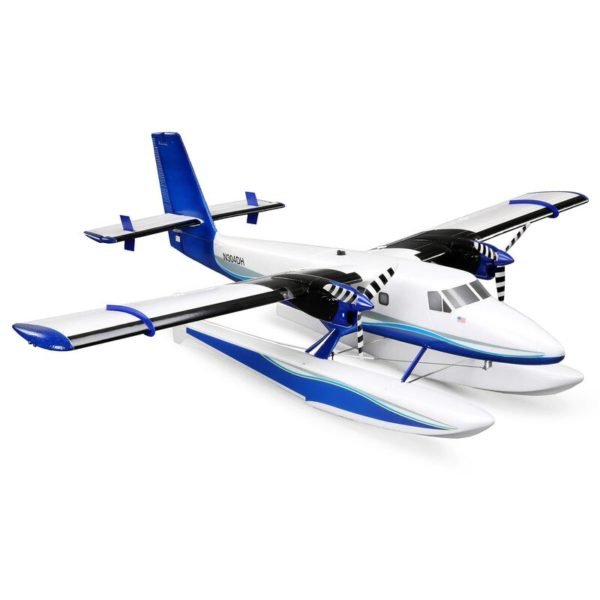 Twin Otter 1.2m BNF Basic with AS3X and SAFE, includes Floats Product Gallery Image 2