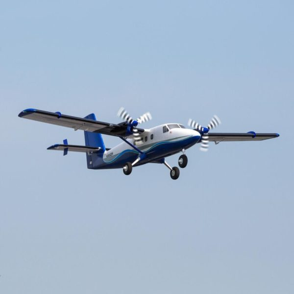 Twin Otter 1.2m BNF Basic with AS3X and SAFE, includes Floats Product Gallery Image 1