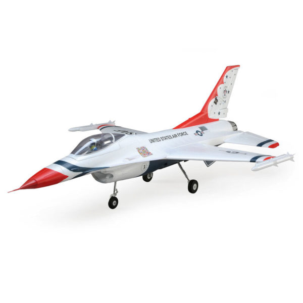 F-16 Thunderbirds 70mm EDF BNF Basic with AS3X and SAFE Select Product Image
