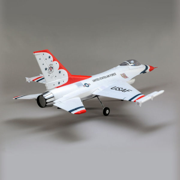 F-16 Thunderbirds 70mm EDF BNF Basic with AS3X and SAFE Select Product Gallery Image 1