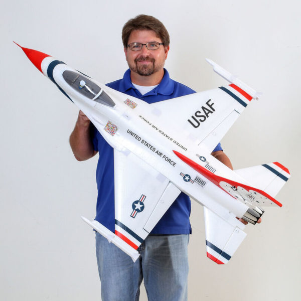 F-16 Thunderbirds 70mm EDF BNF Basic with AS3X and SAFE Select Product Gallery Image 3