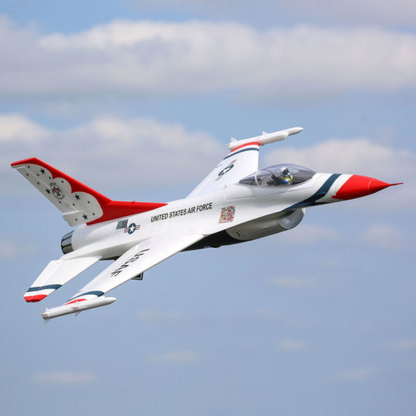 F-16 Thunderbirds 70mm EDF BNF Basic with AS3X and SAFE Select Product Gallery Image 2