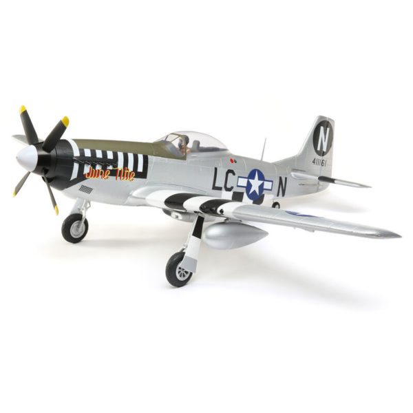 P-51D Mustang 1.2m BNF Basic with AS3X and SAFE Select Product Image