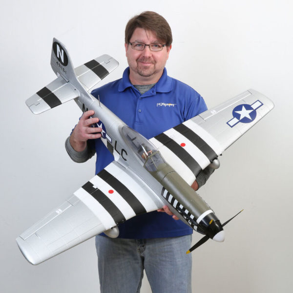 P-51D Mustang 1.2m BNF Basic with AS3X and SAFE Select Product Gallery Image 1