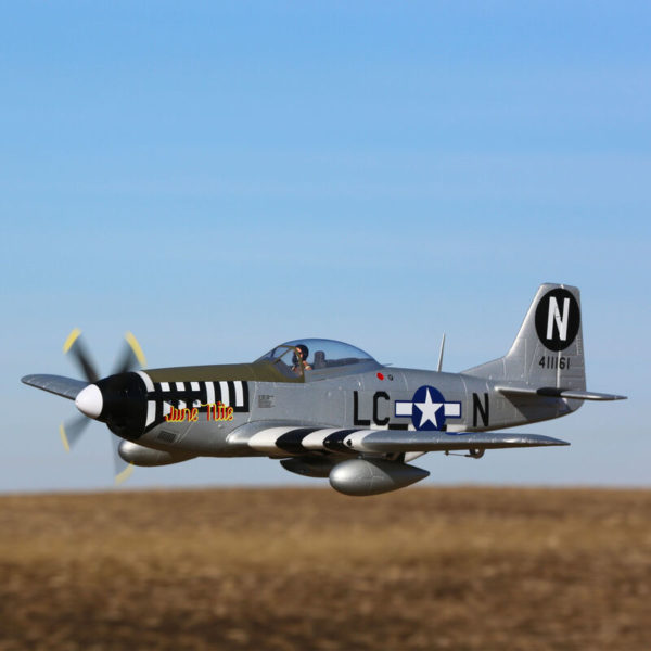 P-51D Mustang 1.2m BNF Basic with AS3X and SAFE Select Product Gallery Image 3