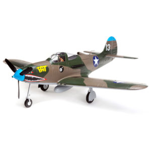 P-39 Airacobra 1.2m BNF Basic with AS3X and SAFE Select Product Image