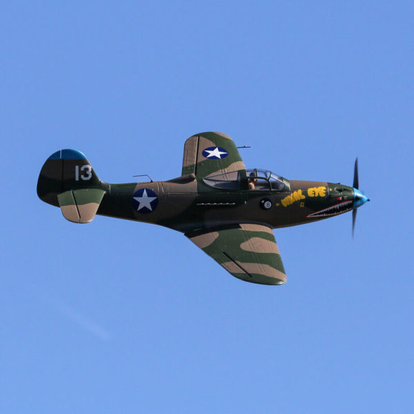 P-39 Airacobra 1.2m BNF Basic with AS3X and SAFE Select Product Gallery Image 1