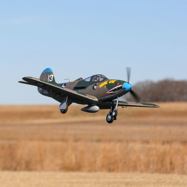 P-39 Airacobra 1.2m BNF Basic with AS3X and SAFE Select Product Gallery Image 2