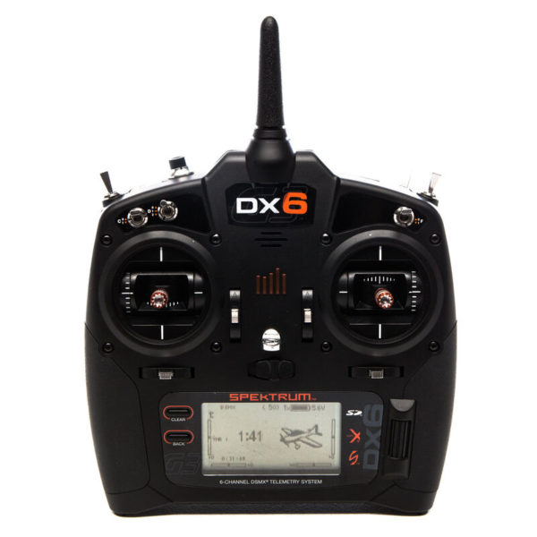 DX6 6-Channel DSMX Transmitter Only Gen 3 Product Image