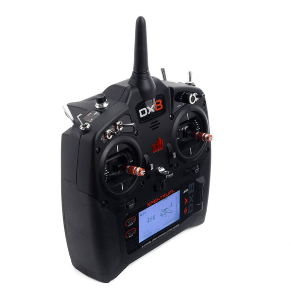 DX8 8-Channel DSMX Transmitter Only Gen 2 Product Gallery Image 1