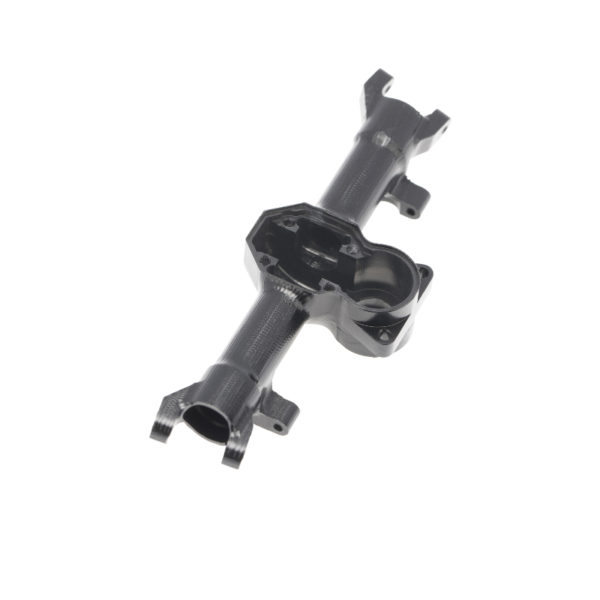 Axial SCX24 Aluminum Alloy Front Axle Housing Black with Cover 1pc Image 3