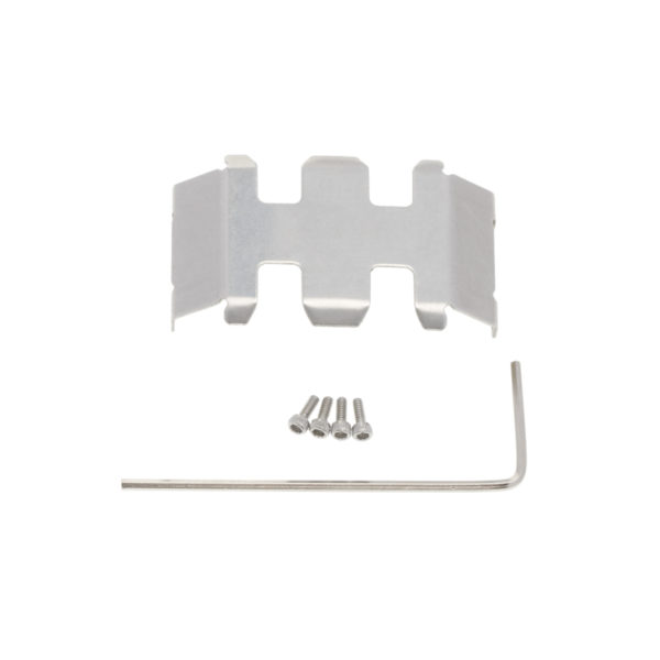 axial scx24 stainless steel chassis armor guard plate 1pc-01